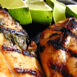 Grilled Coconut Lime Chicken