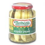 Nathan's Kosher Dill Pickles