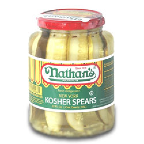 Nathan S Kosher Dill Pickles