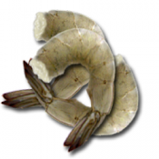 Seafood: 21-25 Raw Shrimp (Peeled and Deveined)