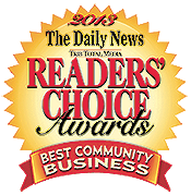 Readers' Choice Award - Best Community Business