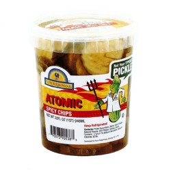 Grocery: Pickle Chips - Atomic Spicy