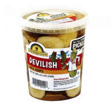 Grocery: Pickle Chips - Devilish Dill