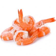 Seafood: 21-25 Cooked Shrimp (P&D)