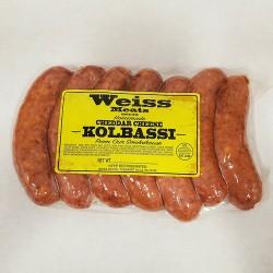 Weiss' Own Kolbassi (Cheddar)