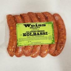 Weiss' Own Kolbassi (Jalapeño Cheddar)