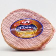 Ham: Albert's 1/2 Semi Boneless Ham