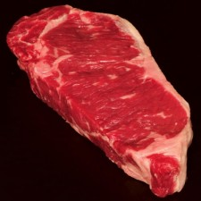 Beef: Angus New York Strip Steak (Boneless)