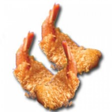 Seafood: Breaded Butterflied Shrimp