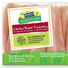 Chicken: Perdue Harvestland Chicken Tenderloins (Case)