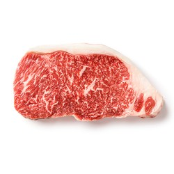 Beef: Certified Wagyu Center Cut New York Strip Steaks